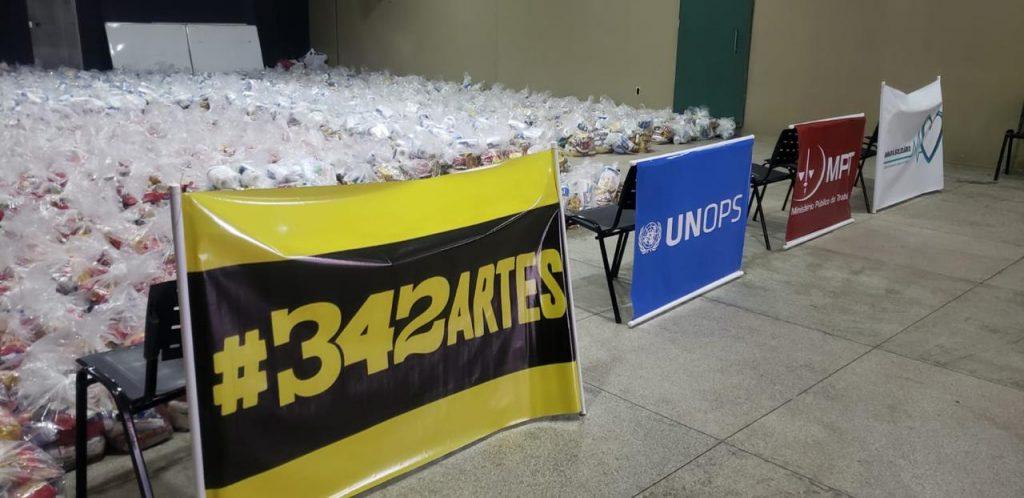 ONU BRASIL: UNOPS e MPT entregam mais de 2 mil cestas básicas à população do Amapá