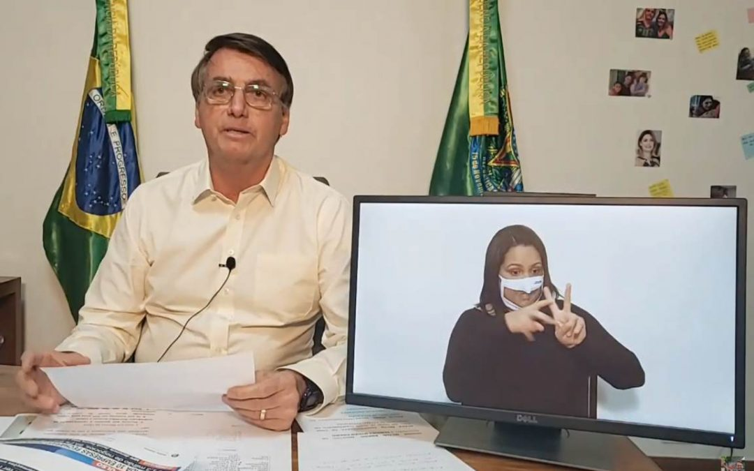 AMAZÔNIA NOTÍCIA E INFORMAÇÃO: Bolsonaro critica em live decreto que proíbe uso de fogo – assinado por ele mesmo