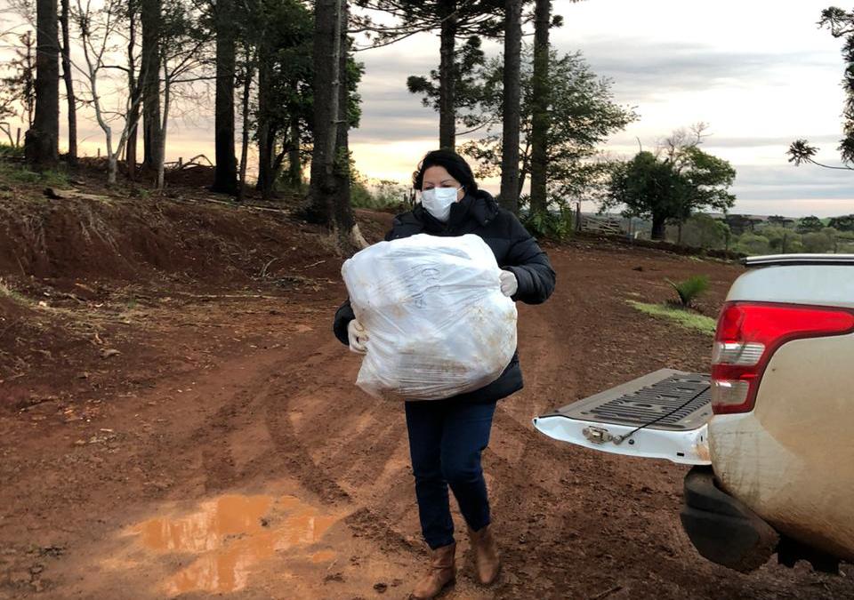 FUNAI: Funai distribui máscaras a comunidades indígenas de Santa Catarina e Paraná