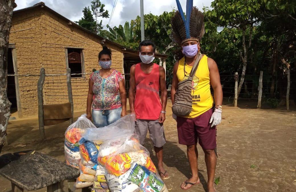 CIMI: Esquecidos pelo Estado: organização e solidariedade garantem alimentos, máscaras e informação a indígenas em Minas, Bahia e Espírito Santo