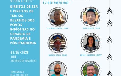 ONU BRASIL: UNICEF inicia na quarta (1º) série de encontros virtuais sobre desafios dos povos indígenas