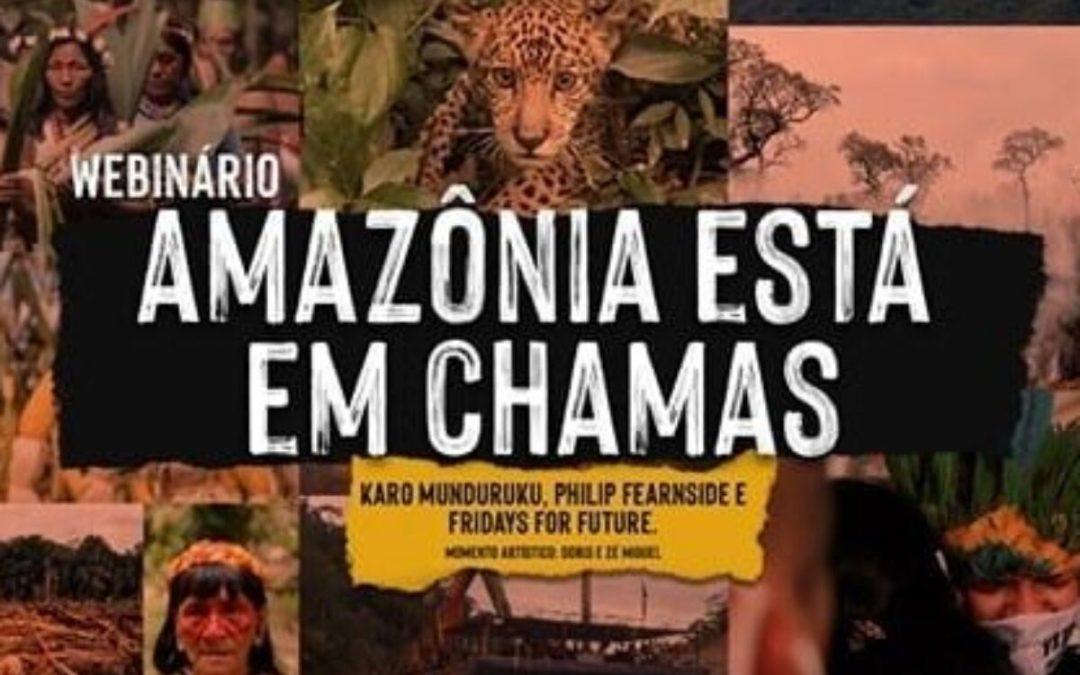 CNBB: A Amazônia está em chamas é tema de webinário nesta segunda-feira (10), às 17h