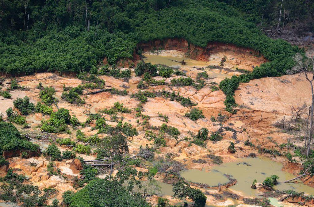 FOLHA DE SÃO PAULO: Nova corrida do ouro movimenta o mercado de mercúrio em Roraima