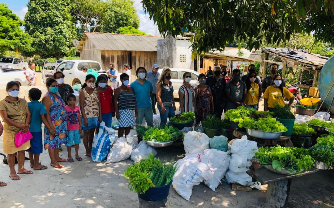 FUNAI: Funai apoia produção de alimentos em aldeias do Sul da Bahia