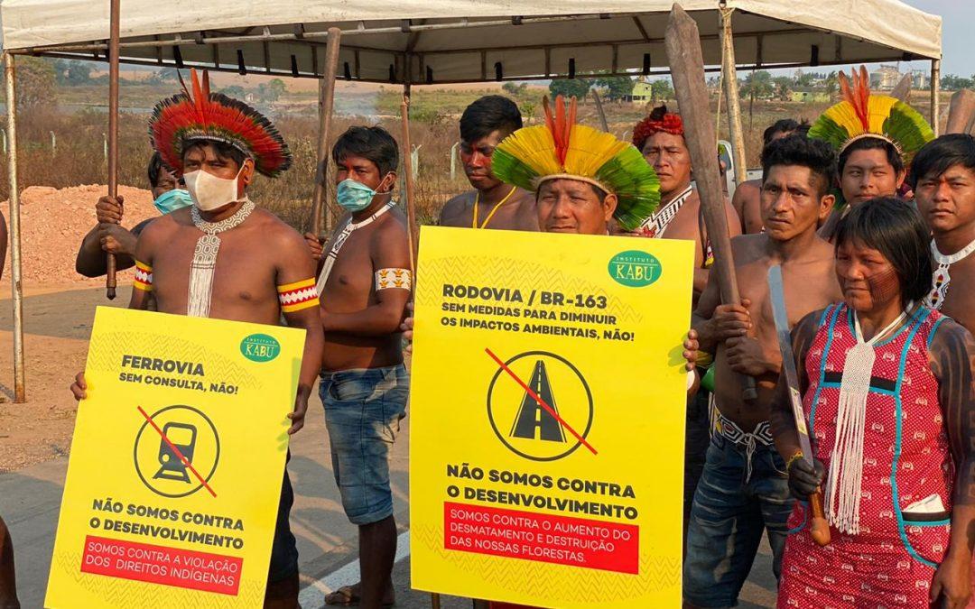 AMAZÔNIA NOTÍCIA E INFORMAÇÃO: Indígenas Kayapó e Panará ganham na Justiça renovação de plano que minimiza impactos da BR-163