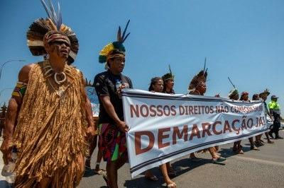 MPF: TRF1 suspende reintegração de posse contra aldeia Pataxó, no Sul da Bahia