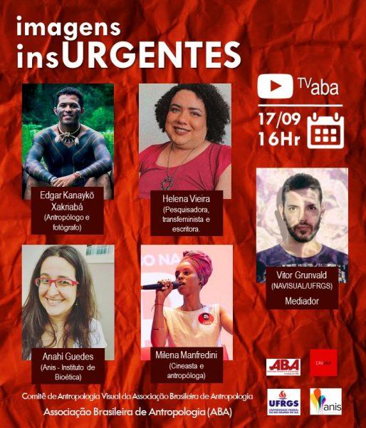 ABA: Webinar – Imagens urgentes: antropologia (áudio)visual e políticas da representação