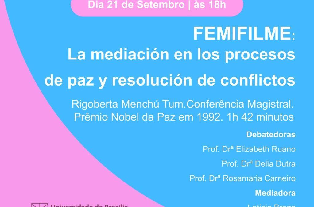 UnB: ICS | 21/09 – Femifilme- cinema debate