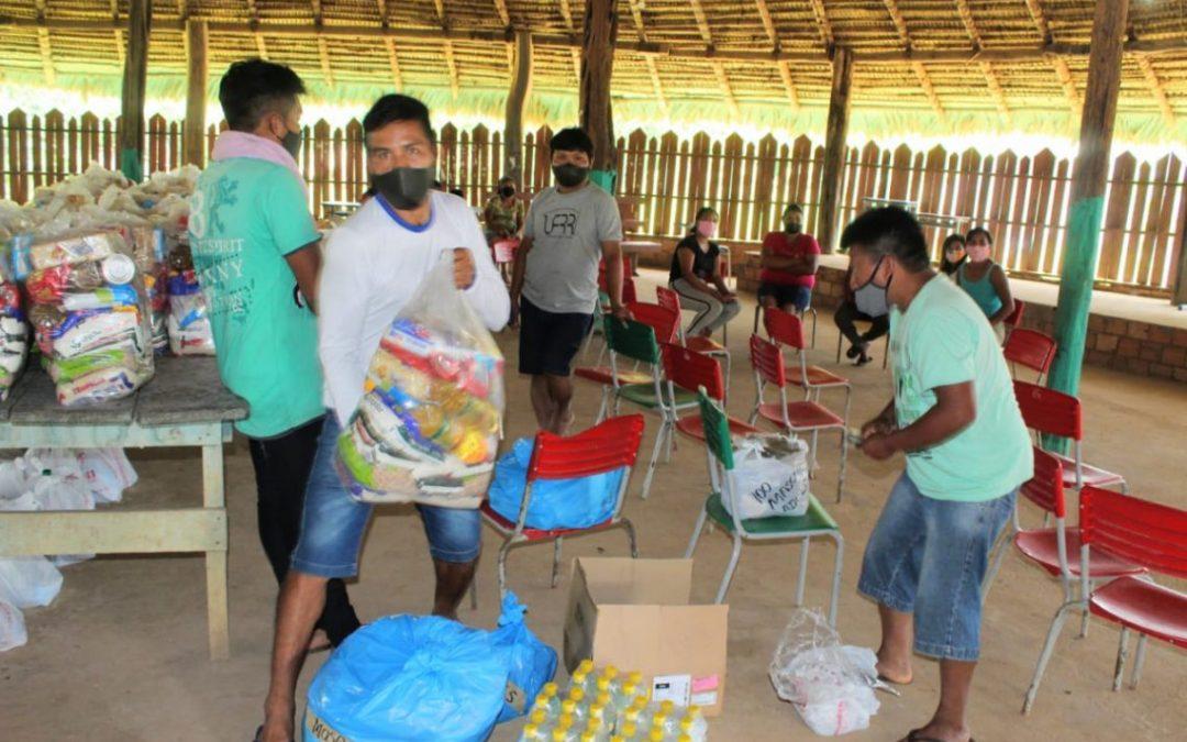 CIR: QUINTA ETAPA: MAIS DE 50 COMUNIDADES INDÍGENAS DE RORAIMA SÃO BENEFICIADAS PELA CAMPANHA EMERGENCIAL