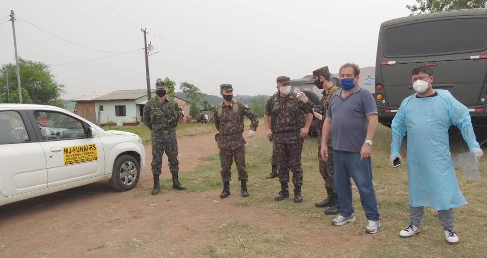 FUNAI: Funai participa de ações de prevenção à covid-19 no Rio Grande do Sul