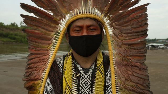 AMAZÔNIA NOTÍCIA E INFORMAÇÃO: Covid entre indígenas: 'Só uma família na minha aldeia não foi infectada com coronavírus'