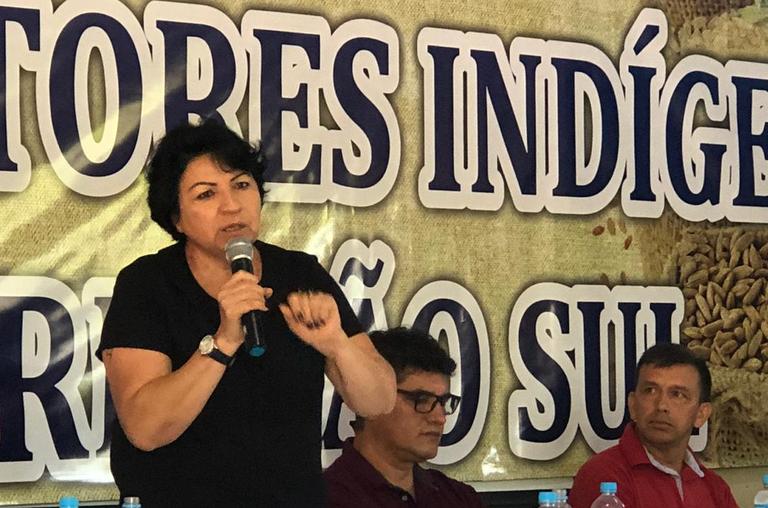 FUNAI: Azelene Kaingang, coordenadora da Funai em Chapecó (SC), é a entrevistada da semana em homenagem ao Mês do Servidor Público