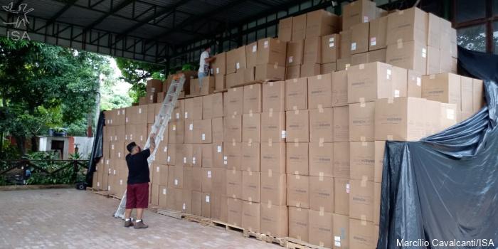 ISA: Conexão SP-Floresta Amazônica: saúde indígena recebe toneladas de EPIs para enfrentar a Covid-19