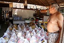 MPF: Indígenas de aldeia no município de Lagoa da Confusão recebem alimentos do projeto SOS Tocantins