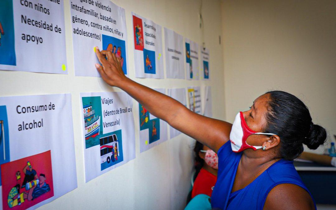 ONU: ACNUR e parceiros fortalecem população refugiada por meio de consultas a essas comunidades
