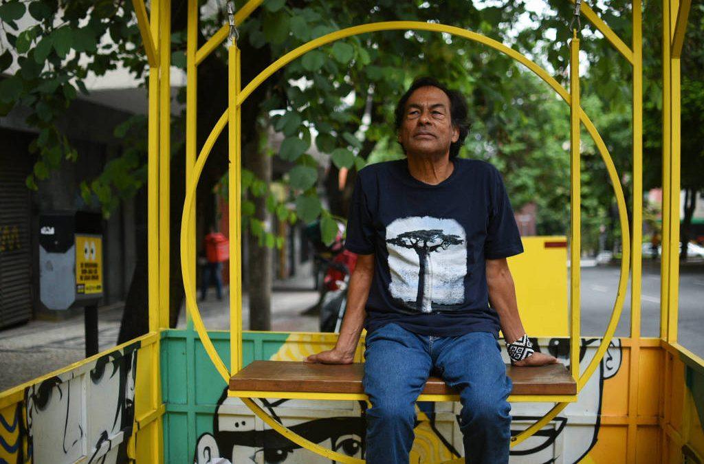 FOLHA DE S. PAULO: 'A vida das famílias foi atropelada há cinco anos', diz Ailton Krenak sobre desastre no rio Doce