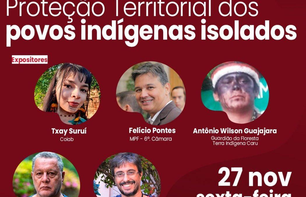 CIMI: Proteção territorial dos povos indígenas isolados é tema da live do Cimi