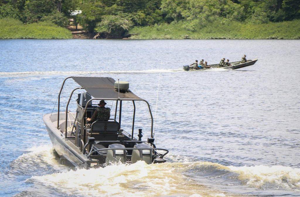 DEFESA: Forças Armadas intensificam combate a crimes transfronteiriços e ambientais na fronteira com a Guiana Francesa