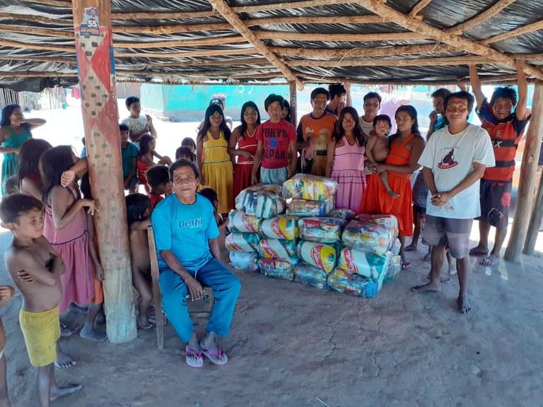 FUNAI: Nova remessa de cestas básicas da Funai beneficia famílias indígenas de Minas Gerais e Espírito Santo