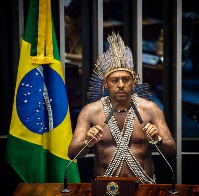 APIB: Apib vai ao TSE em favor do Cacique Marcos Xukuru, eleito prefeito de Pesqueira (PE)