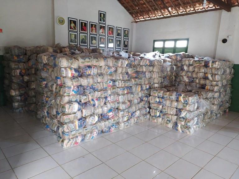 FUNAI: Funai vai distribuir mais de 6 mil cestas de alimentos a indígenas da Paraíba