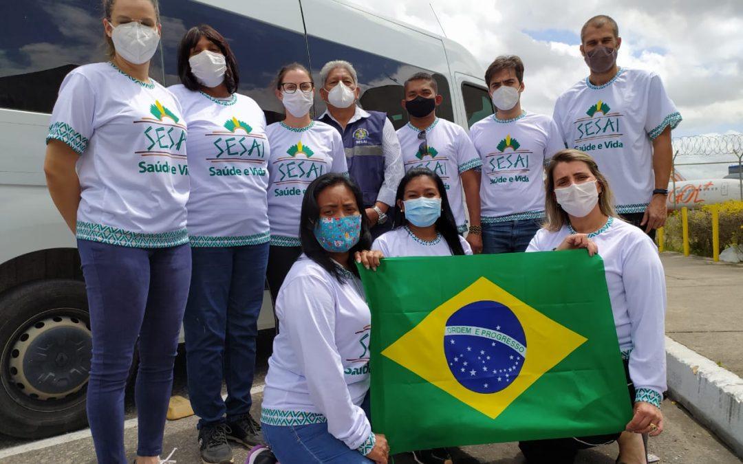 MINISTÉRIO DA SAÚDE: Indígenas da Paraíba recebem atendimento médico e consultas oftalmológica