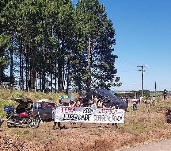 BRASIL DE FATO: Povo Xokleng luta para retomar terra na Floresta Nacional de São Franscisco de Paula