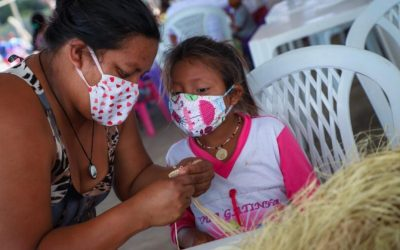 ONU BRASIL: Projeto que impulsiona artesanato Warao recebe novos recursos para expandir seu impacto