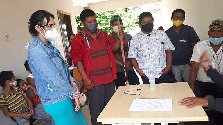 BRASIL DE FATO: Avá-Guaranis ocupam posto em Guaíra (PR) contra precariedade da saúde indígena