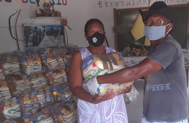 FUNAI: Funai distribui cestas de alimentos para 11,9 mil famílias indígenas no Nordeste