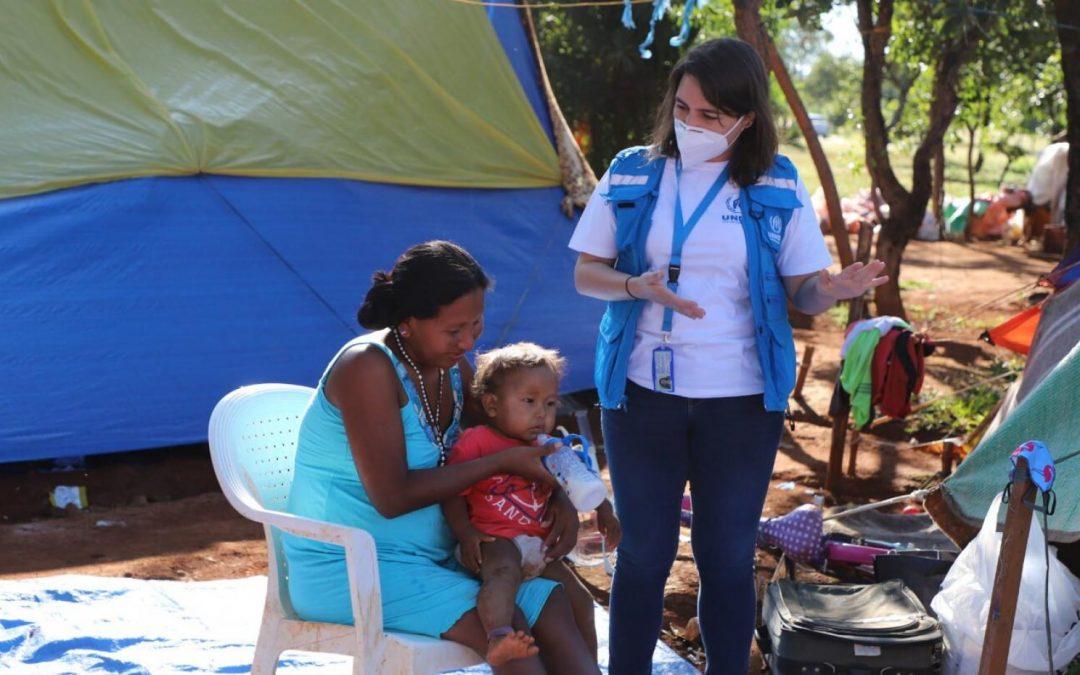 ONU: Indígenas venezuelanos são transferidos para unidade de atendimento social