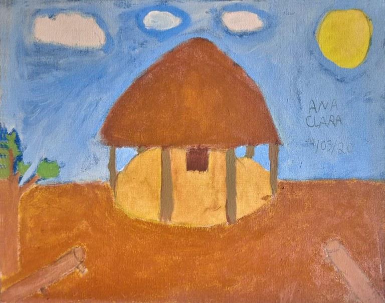 FUNAI: Exposição virtual apresenta desenhos e pinturas de jovens indígenas