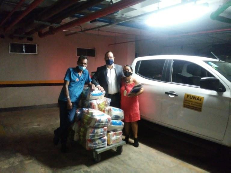 FUNAI: Funai inicia entrega de nova remessa de cestas básicas a indígenas do Distrito Federal
