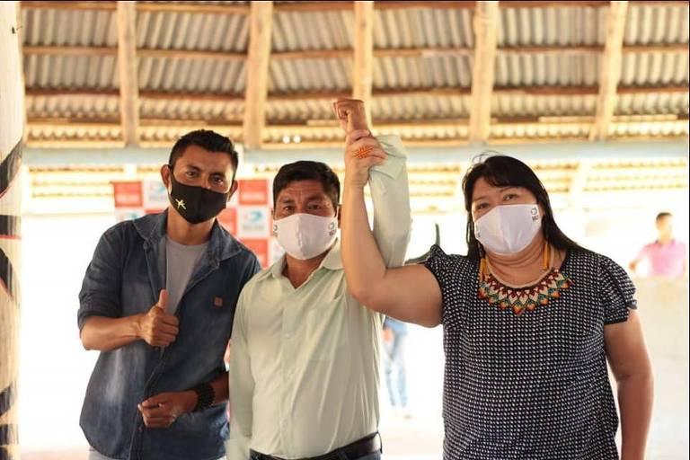 FOLHA DE SÃO PAULO: Grupo indígena lança chapa e adota 'política do malocão' em prefeitura de Roraima