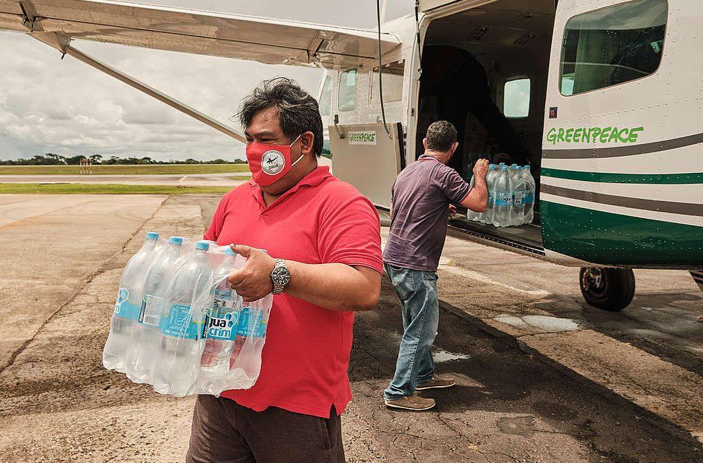GREENPEACE: Povos indígenas do Acre recebem doações para enfrentar enchentes, pandemia e dengue