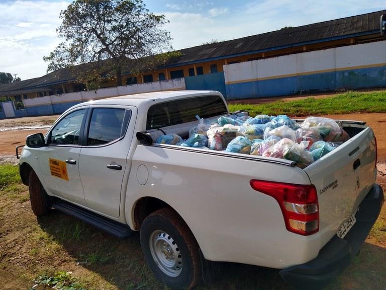 FUNAI: Atuação integrada de unidades da Funai garante segurança alimentar de indígenas em Rondônia