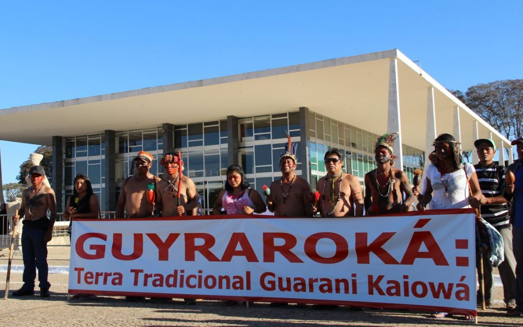 APIB: STF julga caso da Terra Indígena Guyraroka, anulada com base no marco temporal e sem que comunidade fosse ouvida