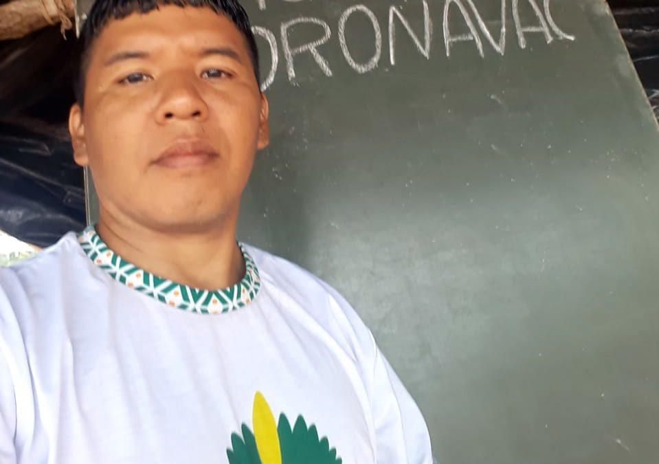 JORNALISTAS LIVRES: Estudante indígena de medicina combate fake news sobre a Covid-19 em aldeia
