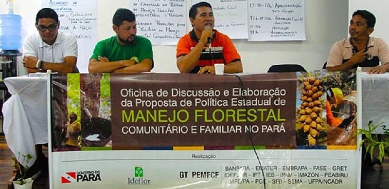BRASIL DE FATO: Manejo Florestal Comunitário e Familiar: uma política para conter o desmatamento