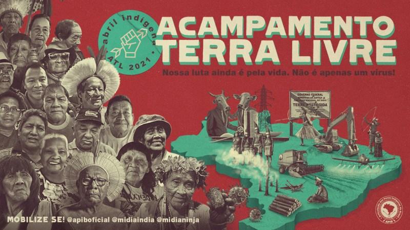 CPI-SP: Acampamento Terra Livre 2021 – Direitos Indígenas