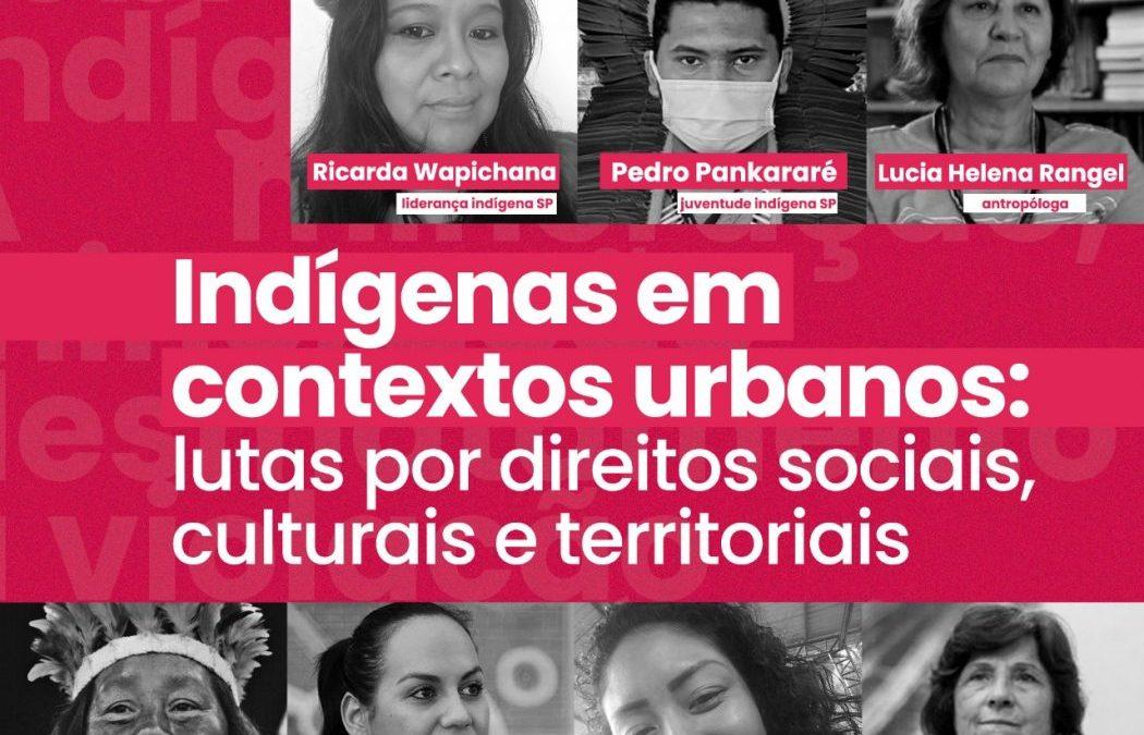 CIMI: Live do Cimi debate resistência indígena na cidade