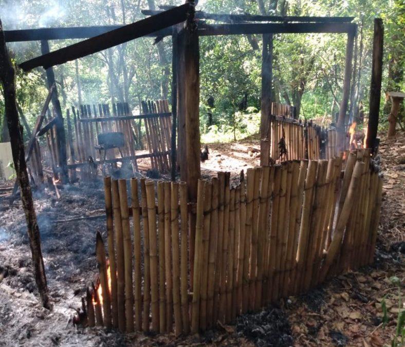 CIMI: Incêndio criminoso destrói construções tradicionais na Aldeia Multiétnica Filhos da Terra, em Guarulhos (SP)