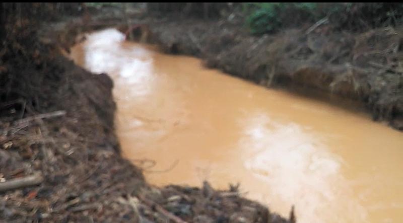 """BRASIL DE FATO: Governo de RR diz que garimpeiros desviaram rio em área federal: """"Nada podemos fazer"""""""