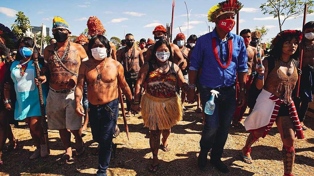 GREENPEACE: A saga incansável do povo Munduruku pela defesa de seu território