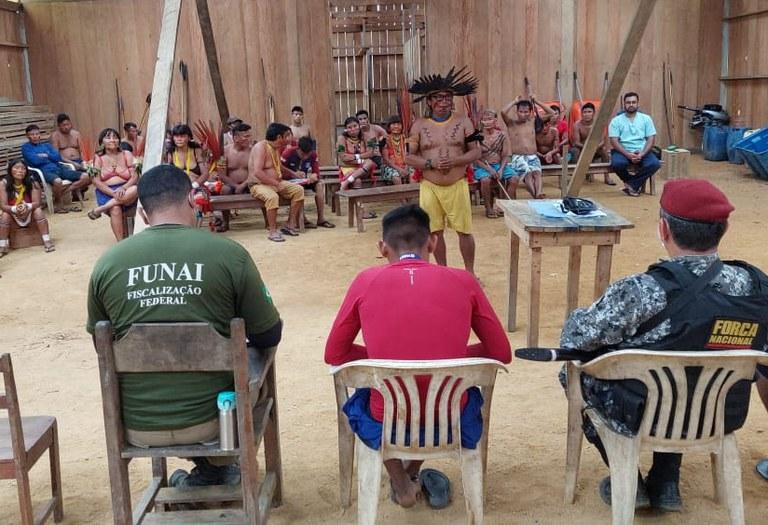 FUNAI: Funai e Força Nacional apoiam ação de atendimento à saúde na Terra Indígena Yanomami