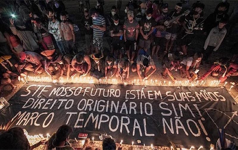RBA: Levante pela terra: povos originários fecham rodovias contra agenda anti-indígena e marco temporal