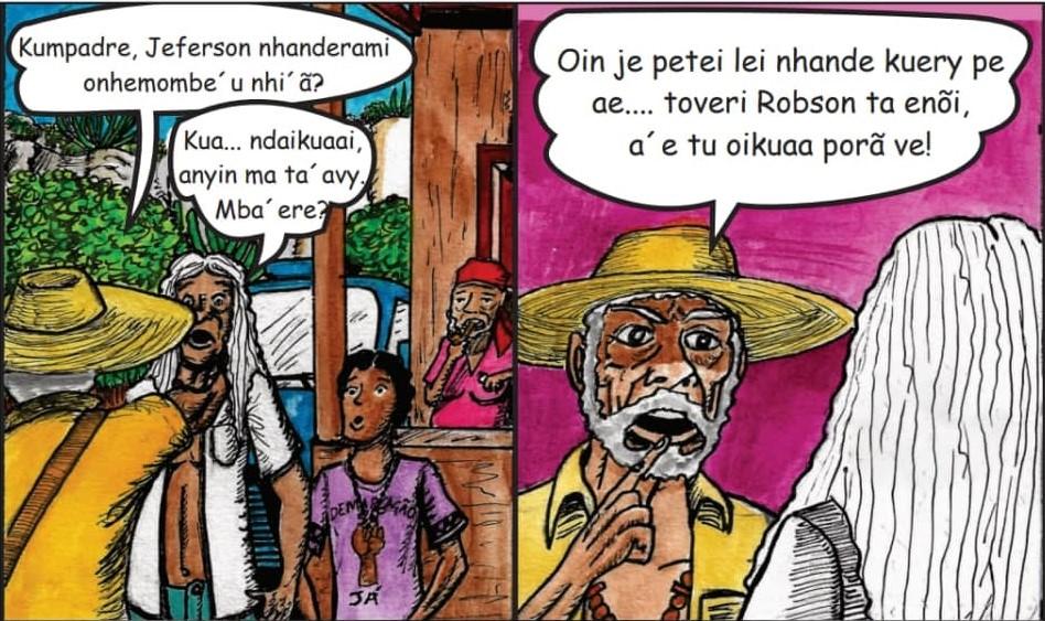 CIMI: HQ em Guarani Mbya: organizações publicam cartilha em quadrinhos sobre povos originários em conflito com a lei