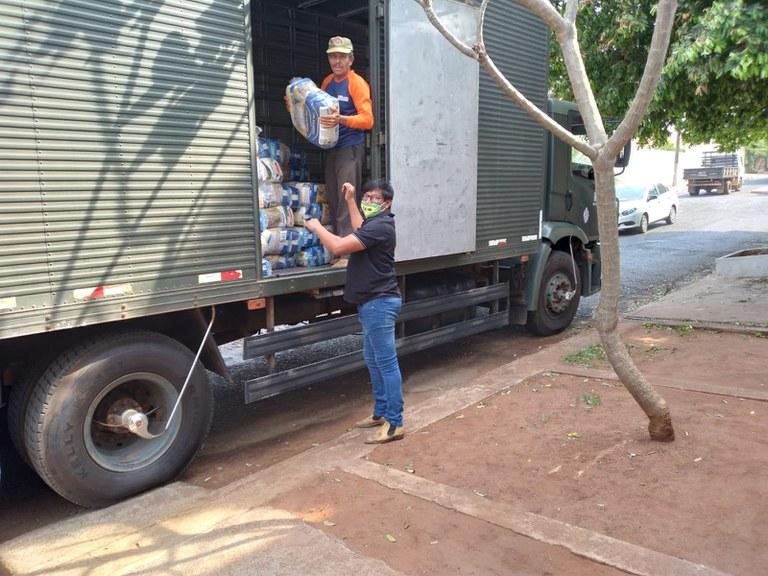FUNAI: Funai entrega mais de 4 mil cestas de alimentos a famílias indígenas no Mato Grosso do Sul