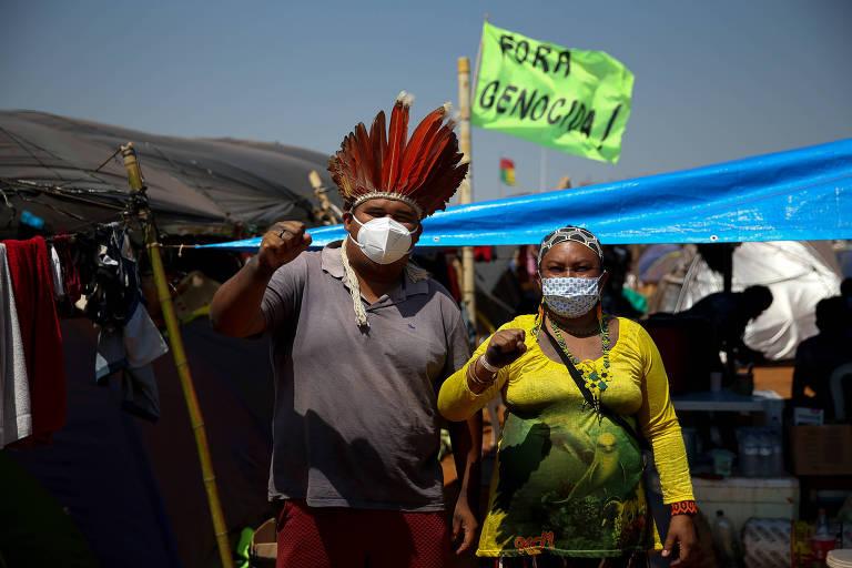 FOLHA DE SÃO PAULO: Kassio, do STF, defende marco temporal de terras indígenas, Moraes pede vista, e julgamento é suspenso