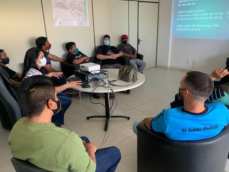 FUNAI: Unidade da Funai em Chapecó apresenta balanço de ações do órgão para lideranças indígenas de SC